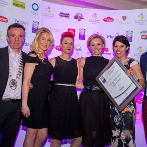 Belleek Castle wins again at the Irish Restaurant Awards 2017